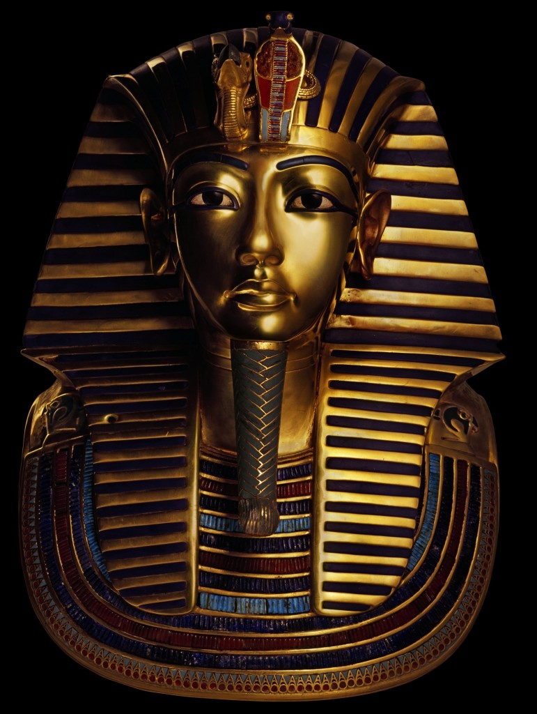 Golden Mask of the Pharaoh Tutankhamun -2B